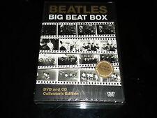 THE BEATLES: Big Beat Caja - DVD y CD - 2 discos - NUEVO Y SIN ABRIR - 2001