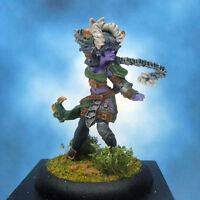 Painted Privateer Press Miniature Warmachine Satyxis Raider