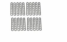 20 x AWNING RUBBER LADDER STRAPS SUITABLE FOR TENTS GAZEBO SAFARI ROOM AWNINGS