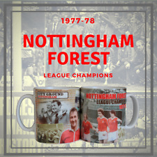 NOTTINGHAM FOREST  League Champions 1977-78 Tribute Mug