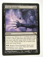 MTG Magic: the Gathering Cards: GRIM REMINDER: MRD