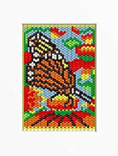 SUMMER MONARCH BUTTERFLY BEADED BANNER PDF PATTERN ONLY
