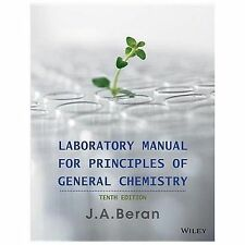NEW! Laboratory Manual for Principles of General Chemistry by Beran (2013, Paper