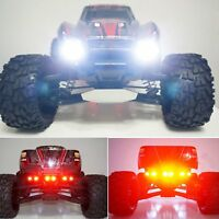 LED Scheinwerfer Front Lampe + Rear Taillight Set Für TRAXXAS X-MAXX RC Car Auto