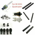XK X251 Parts Screw Set/Receiver Board/Upper&Lower Body Cover/Landing Gear Frame