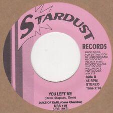 Duke of Earl/LV Johnson que me dejó Stardust Alma Northern Motown