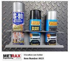 Spray aerosol can holder 3 can. Van racking storage / garage / shed / workshop