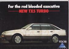 1986 FORD AS TX5 TURBO Australian 4 Page Brochure Like Mazda 626