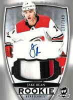 "2018-19-U.D. "" THE CUP"" ROOKIE- JAKE BEAN  R.C. AUTO PATCH  SSP #/249 HURRICANES"