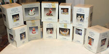 Lot of 11 Vintage Goebel Angel Bell & Other Hummel Ornaments 1987-2000 in Boxes