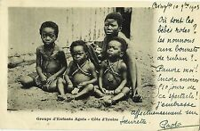 IVORY COAST, BINGERVILLE TO LE HAVRE, YEAR 1903, NICE ETHNIC POSTCARD, COLONIES