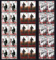 JOHNNY CASH SONGWRITER SET OF 3 MINT VIGNETTE STAMP STRIPS 1