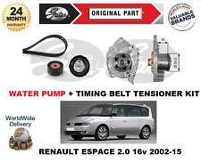 Pour Renault Espace 2.0 16v 2002-2015 Neuf Pompe Eau + Tendeur Courroie