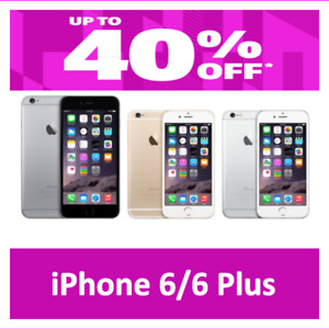 Apple iPhone 6/6 Plus 16GB 64GB Unlocked Verizon Go Mobile US Cellular LTE 4G