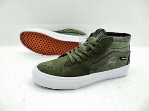 VANS Sk8 Mid Gore Tex Damen Herren Schuhe Boots Sneaker Skaterschuhe Gr.42 Grün
