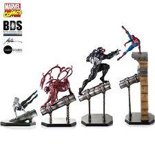 Iron Studios 1:10 Spider-Man Marvel Comic Diorama Estatua de Arte de 4 piezas de este conjunto bds