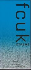 FCUK XTREME HIM Eau de Toilette 100ml Spray - NEW Sealed - FREE SHIP in Aust