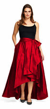 ADRIANNA PAPELL Red High Low Ball Skirt Size 2 NWT