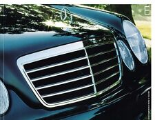 2002 Mercedes Benz E-Class E320 E430 E44 AMG 48-page Sales Brochure Catalog