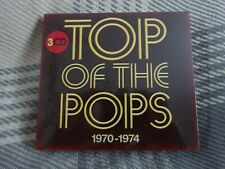Top of the Pops 1970-1974 -3xCDs - Various Artists- (2016) New - Free uk postage