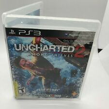 Uncharted 2: Among Thieves (Sony PlayStation 3, 2009) PS3 Complete CIB W/ Manual
