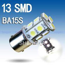 2pcs 1156 BA15S 13 SMD BIANCO LAMPADINA LED LAMPADA p21w R5W REGNO UNITO STOCK