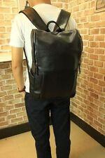 New Men's Faux Leather Backpack Shoulder Laptop Bag Large Size FG BP011