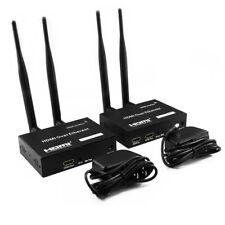 1080P IR Remote 5G Audio Video 200M Wireless HDMI Extender Transmitter Receiver