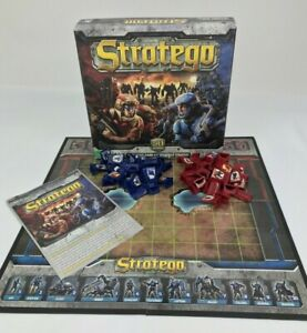 Stratego 50th Anniversary Board Game 2011 Replacement Parts Red Blue Tokens Toy