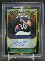2019 Obsidian Rookie Autographs Electric Etch Yellow #31 Miles Boykin /25