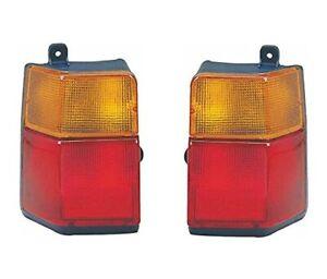 NEW TOYOTA LITEACE 1985-1992 REAR TAIL LIGHT LAMP SET LEFT + RIGHT PAIR CM30 KM3