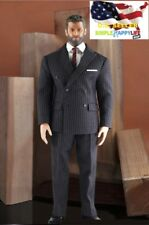 1/6 Men Dark Gray Classic suit Western-style / MUSCLE Body PHICEN M34 M35 ❶USA❶