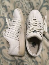 K-Swiss Shoes Trainers Leather Lace Up Ladies Size 4 Eu 37 Used