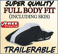 Full Fit Snowmobile Sled Cover POLARIS Trail RMK 2004 2010