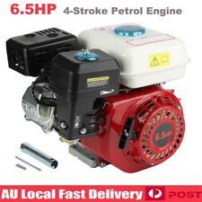 6.5HP Petrol Engine Stationary Motor 4-Stroke OHV Horizontal Shaft Recoil Start
