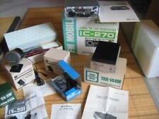 ICOMIC-270 144MHz radio equipment (unused product) and used set used goods