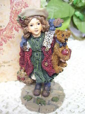 Boyds Bears Yesterdays Child Home Again Series Gathering Apples Figurine 1996