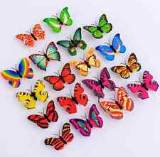 Creative Butterfly Color Changing LED Night Light Lamp Home Room Desk Wall Decor