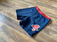 GEORGE ~ BOYS NAVY BLUE & RED SWIMMING SHORTS ~ AGE 3 - 4 YRS