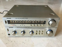 Stereo integrated amplifier PHILIPS F4312 + TUNER F2312, working