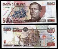MEXICO 500 PESOS 2000 P 115 75th COMM. SERIES R UNC