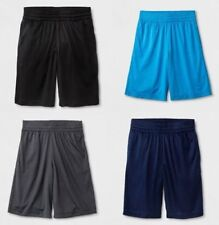 Cat & Jack Boys Athletic Shorts Sizes 4-18 & Regular & Husky Blue Black Gray NWT