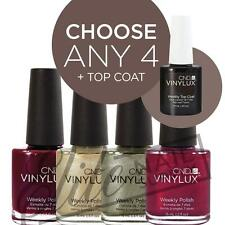 CND VINYLUX Weekly Polish 15ml - Any 4 Colours + Top Coat