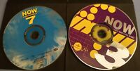 NOW THAT IS WHAT I CALL MUSIC - Lot of 2 CDs - Volume #3 and Volume #7 -CD ONLY-