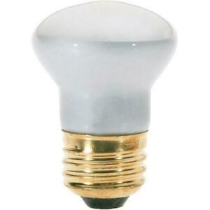 25 watt R14 Incandescent; Frosted; 1500 average rated hours; 135 lumens; Medium