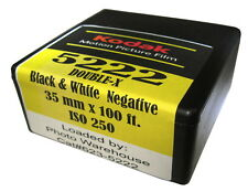 Kodak EASTMAN 5222 DOUBLE-X Black & White 35mm Film 100' Roll ISO 250