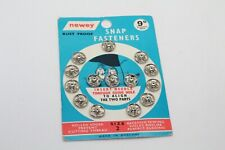 pack of newey snap fastners 3