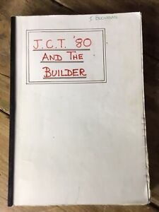 JCT 80 And The Builder By Ivan Dickason