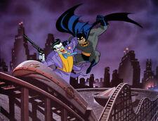 BRUCE TIMM rare BE A CLOWN giclee CANVAS Batman Joker WB SIGNED art COA!
