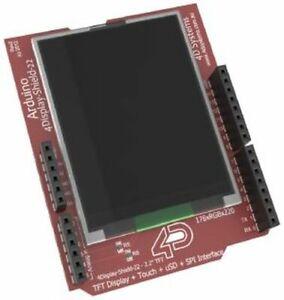 "Arduino LCD TFT Shield, 2.2"", 176x220, 262K colors, Touchscreen"